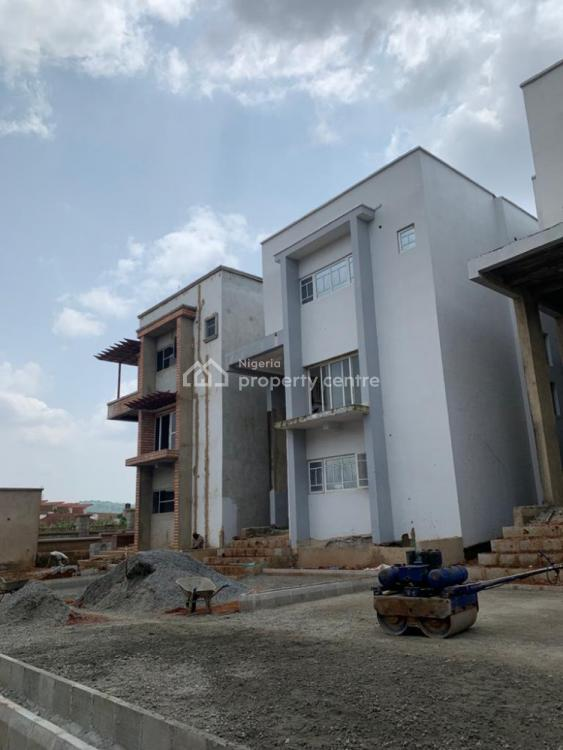 4 Bedroom Terrance with Bq (carcass), Diplomatic Zone, Katampe Extension, Katampe, Abuja, Terraced Duplex for Sale