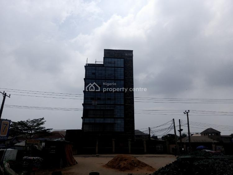 Executive Built and Strategically Located Office Space, Beside Blenco Supermarket, Sangotedo, Ajah, Lagos, Office Space for Rent