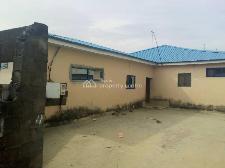 a Warehouse with 2 Halls + Offices Sitting on a Full Plot Land, Close to Lekki Epe Expressway, Awoyaya, Ibeju Lekki, Lagos, Warehouse for Sale