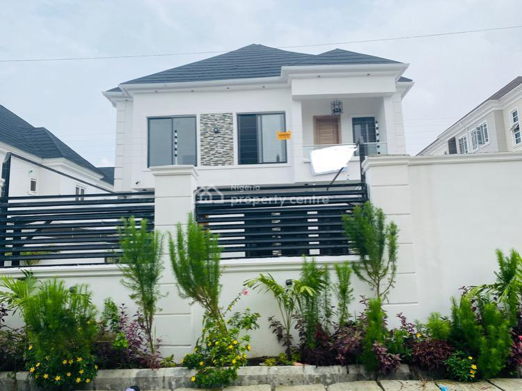 Classy 5 Bedrooms Fully Detached Duplex with Bq + Swimming Pool, Before Chevron, Lekki Expressway, Lekki, Lagos, Detached Duplex for Sale