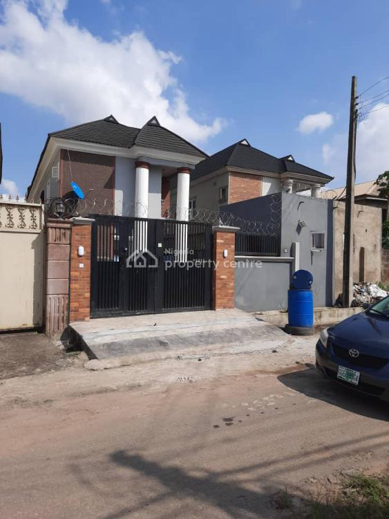 Newly Built 5 Bedroom Duplex with a Room Bq, Maplewood Estate, Oko-oba, Agege, Lagos, Detached Duplex for Sale