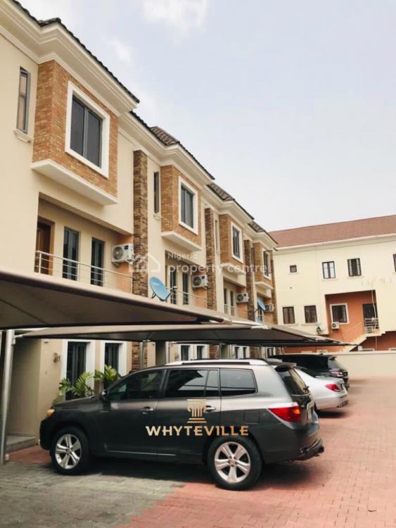 4 Bedroom Duplex + Bq, Abiola Court 6 Off Kunsela Road, Ikate Elegushi, Lekki, Lagos, Semi-detached Duplex for Sale