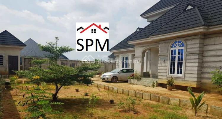 Property on 2 Plots of Land, 5 Bedroom Bungalow and Penthouse, Cornerstone Road, Nta Road, Port Harcourt, Rivers, Detached Bungalow for Sale