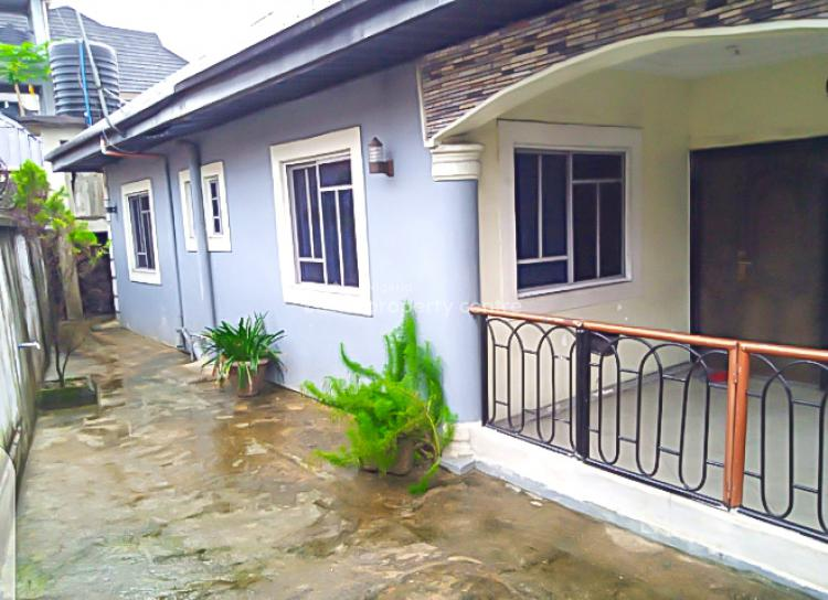 Standard 3 Bedroom Bungalow with P.o.p Ceilings in a Safe Neighborhood, St Johns Iwofe, Ada George, Port Harcourt, Rivers, Detached Bungalow for Sale