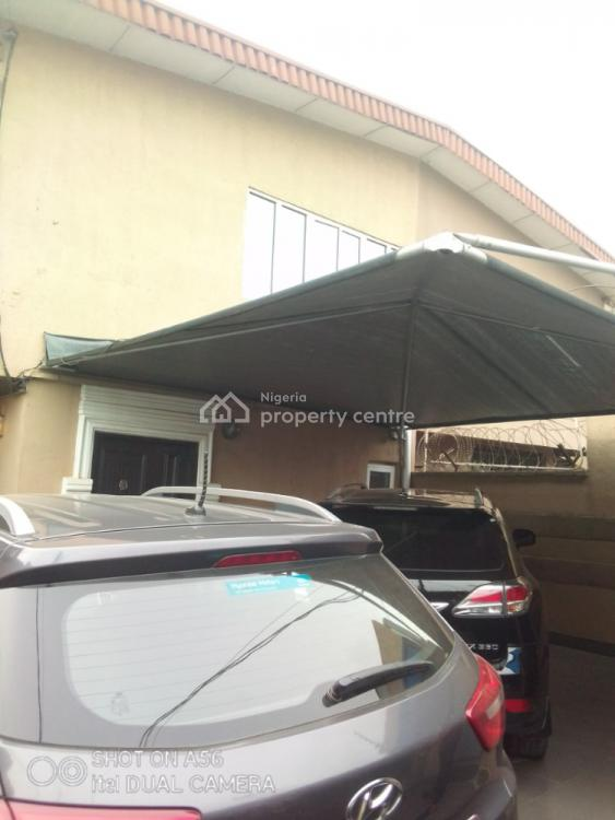 Standard Luxury Commercial 4 Bedroom Duplex with Miniflat Bq, Facing Road, Gbagada, Lagos, Office Space for Sale