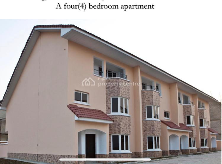 Luxury 4 Bedroom Town House with Excellent Amenities, Royal Gardens Estate, Lekki Expressway, Lekki, Lagos, Terraced Duplex for Sale