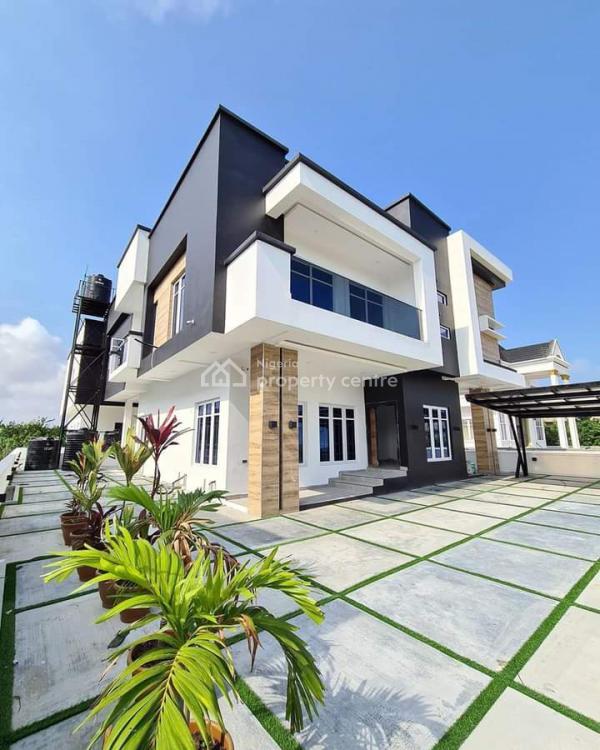 Luxury 5 Bedroom Fully Detached House in Estate, Chevron Estate., Lekki, Lagos, Detached Duplex for Sale