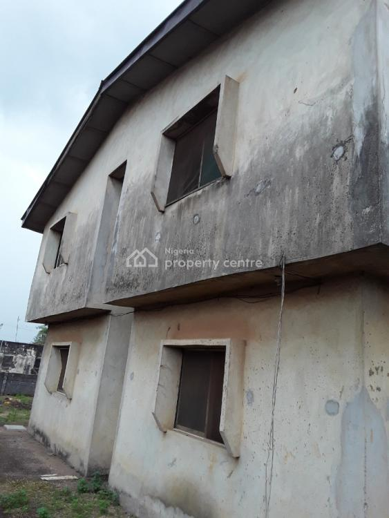 4 Numbers of 3 Bedrooms Flat on Two Plots  of Land, Fenced and Gated, Anderson Busstop, Off Lasu - Isheri Expressway, Igando, Alimosho, Lagos, Block of Flats for Sale
