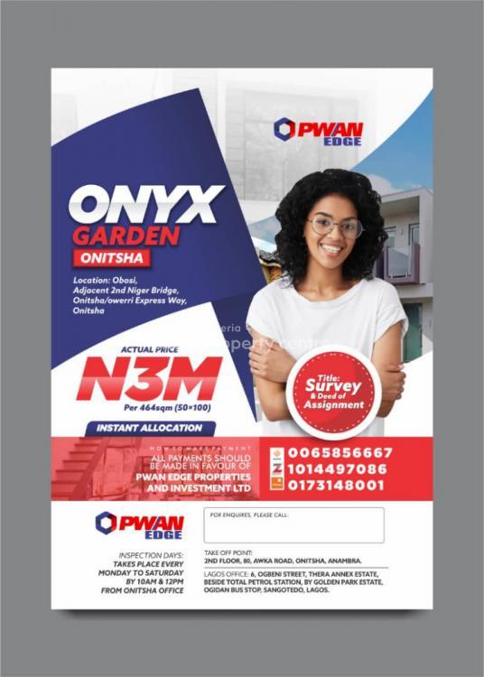Land, Onyx Gardens, Obasi, Adjacent 2nd Niger Bridge, Onitsha, Anambra, Mixed-use Land for Sale