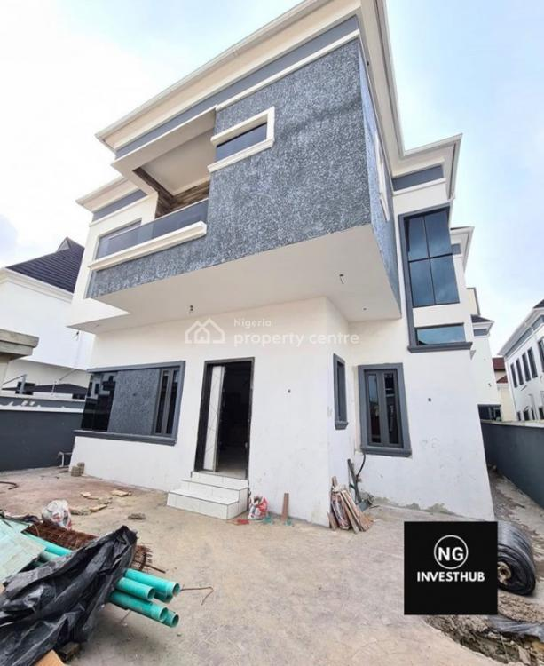 Well Spacious 5 Bedroom Fully Detached Duplex with a Room Bq, 2nd Toll Gate, Lekki, Lagos, Detached Duplex for Sale