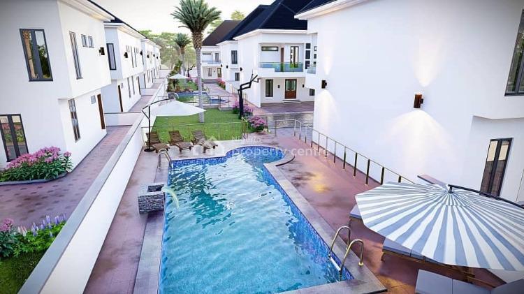 Beautiful 4 Bedroom Terraced Duplexes, Lekki, Lagos, House for Sale