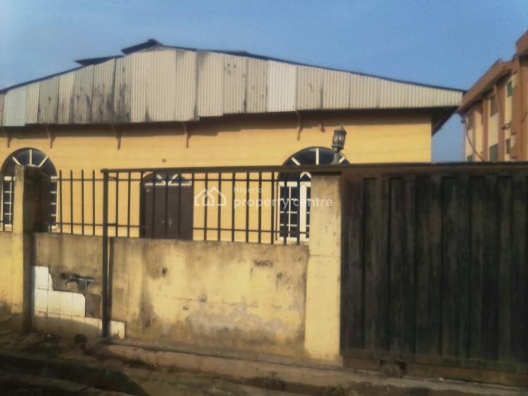 Half Plot of Land Fenced with Gate, Alabi Oyo Street Off Ailegun Road, Oke Afa, Isolo, Lagos, Residential Land for Sale
