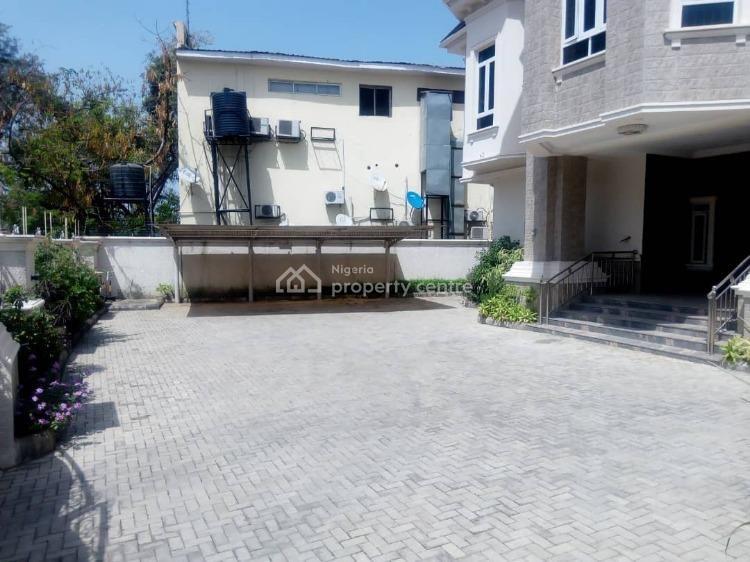 Fully Detached 6 Bedrooms Mansion with 1 Bedroom Guests Chalet & 2 Bq, Off Ibb Boulevard, Maitama District, Abuja, Detached Duplex for Sale