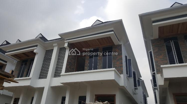 Luxury & Spacious 4 Bed Semi-detached Duplex with Detailed Finishing., By Second Toll Gate, Ikota, Lekki, Lagos, Detached Duplex for Sale