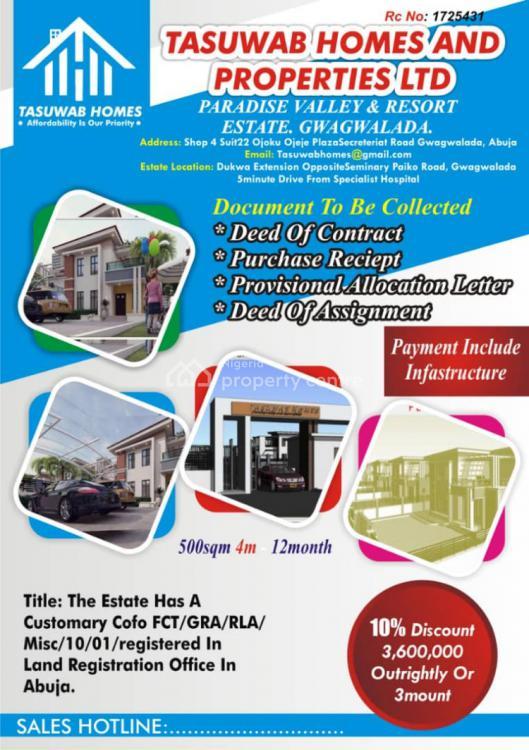 500sqm Land, Paradise Valley and Resort Estate, Paiko, Gwagwalada, Abuja, Land for Sale