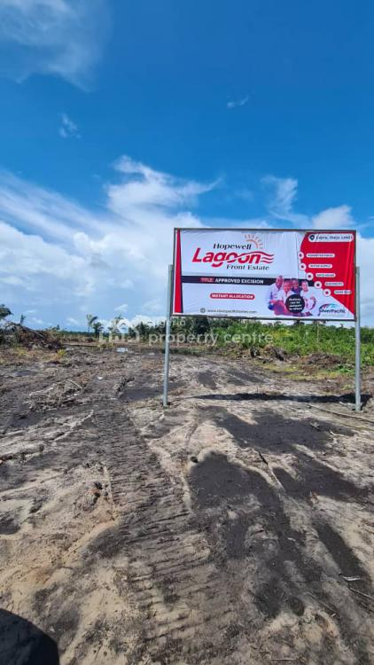 Dry Land Available at a Beach Front with High Profit, Lepia, After Eleko, Ibeju Lekki, Lagos, Residential Land for Sale