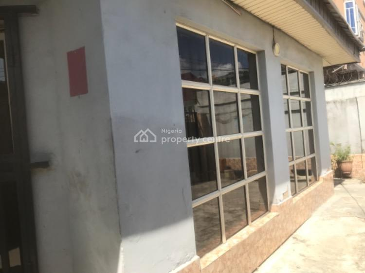 Open Plan Detached Bungalow Office Space, Alagomeji, Yaba, Lagos, Office Space for Rent