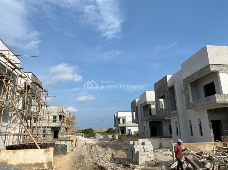 Luxury 3 Bedroom Semi Detached Duplex with Bq in Vantage Court, Bogije, Ibeju Lekki, Lagos, Semi-detached Duplex for Sale