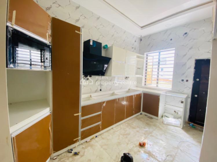 Humongous 4 Bedroom Terrace Duplex with a Domestic Room, Chevron Toll Gate, Lekki Expressway, Lekki, Lagos, Terraced Duplex for Sale
