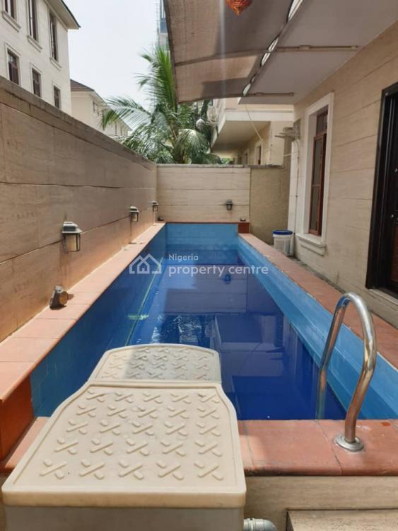 4 Bedroom Detached Duplex + 1 Room Bq, Swimming Pool, Generator, Ikoyi, Lagos, Semi-detached Duplex for Sale