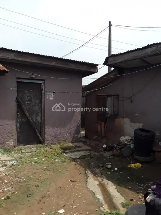 Bungalow  of 11 Rooms and 5 Shop in The Front on a Corner Piece, Hostel Bus Stop Egbe Expressway, Ikotun, Lagos, House for Sale