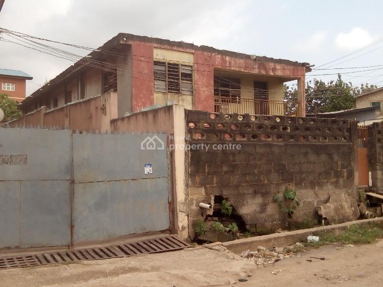 2-storey Building on a Corner Piece, 22, Bello Street, Ayedere, Ketu, Lagos, Block of Flats for Sale