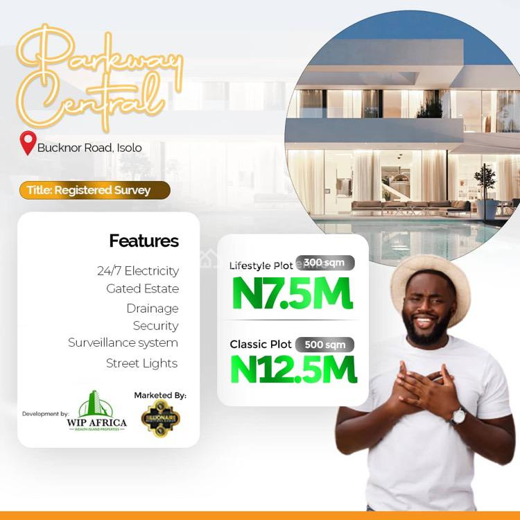 Parkway Central Estate, Bucknor Road, Isolo, Lagos, Residential Land for Sale