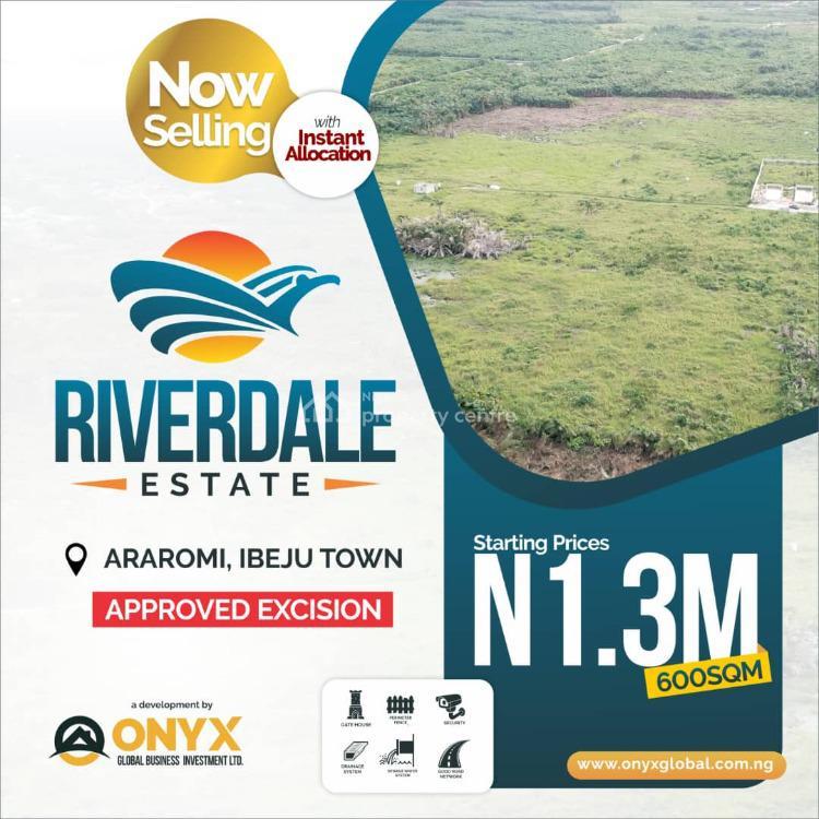 Plot of Land in a Serene Location, Ibeju Lekki, Lagos, Land for Sale