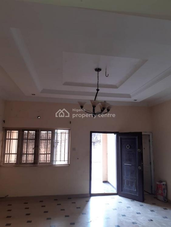 Clean 3 Bedrooms Flat with a Room Bq, Esfort Estate, Ado Road, Ajah, Lagos, Flat for Rent