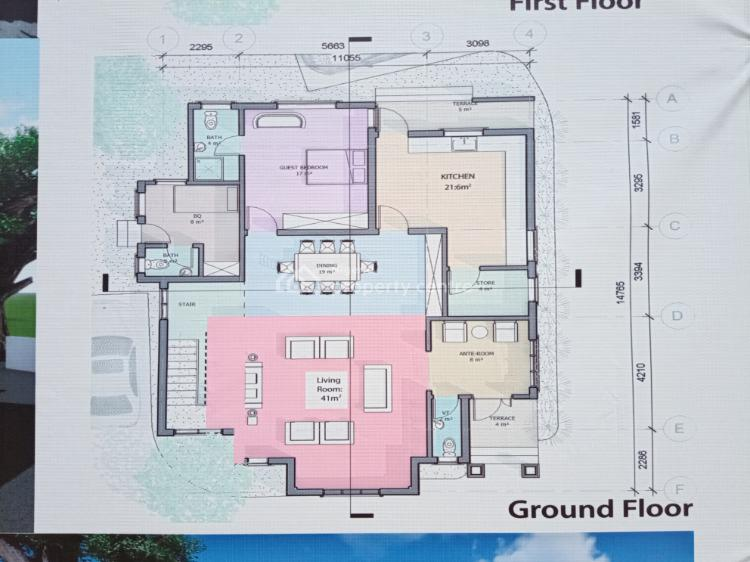 Fully Detached 4 Bedroom Duplex with Large Space, Medorf Homes, Inside Green Park Scheme Estate, Abijo, Lekki, Lagos, Detached Duplex for Sale