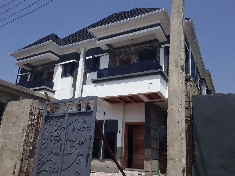 Luxury 4 Bedroom Semi Detached Duplex with Bq, Ikate, Lekki, Lagos, Semi-detached Duplex for Sale