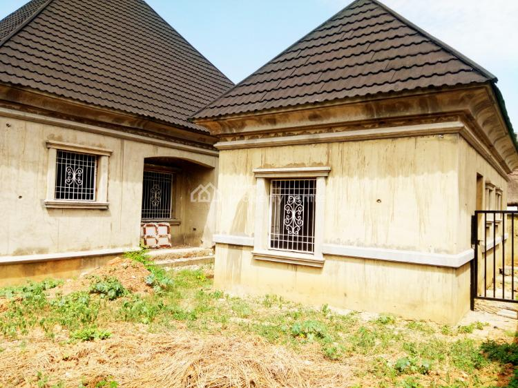 Unique Three Bedroom Bungalow with Two Units of Self-contained Bedroom, Efab Queens Estate, Gwarinpa, Abuja, Detached Bungalow for Sale