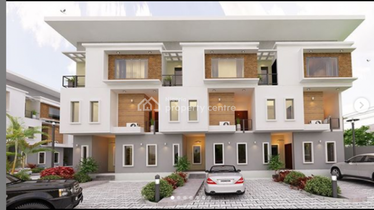 Off Plan -4 Bedroom Terraced Duplex, Ikate -elegushi, Lekki, Lagos, Terraced Duplex for Sale