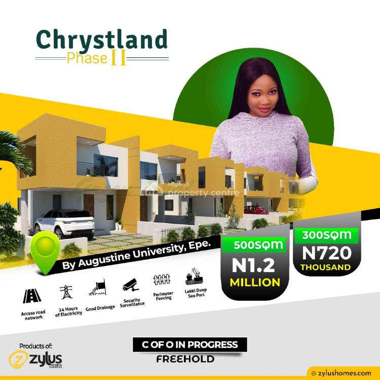 Chrystland Estate Phase 11, By Augustine University, Epe, Lagos, Mixed-use Land for Sale
