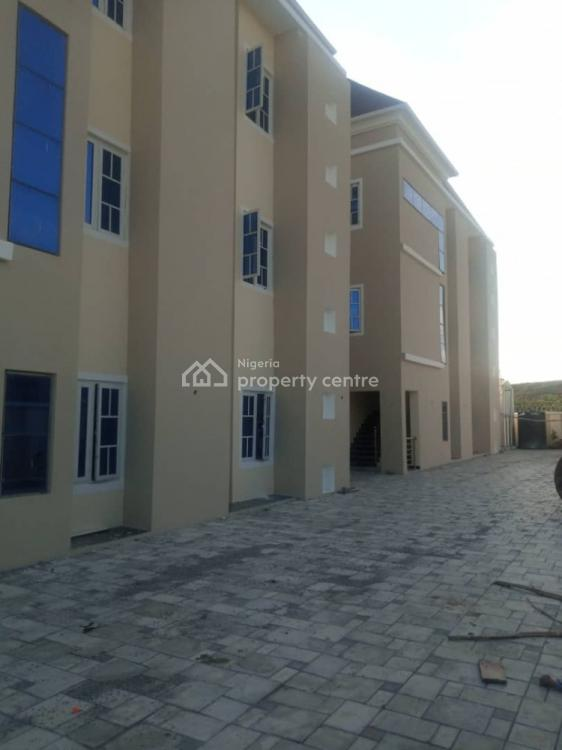 2 Bedrooms Flat with Bq, By Gilmor, Jahi, Abuja, Flat for Rent