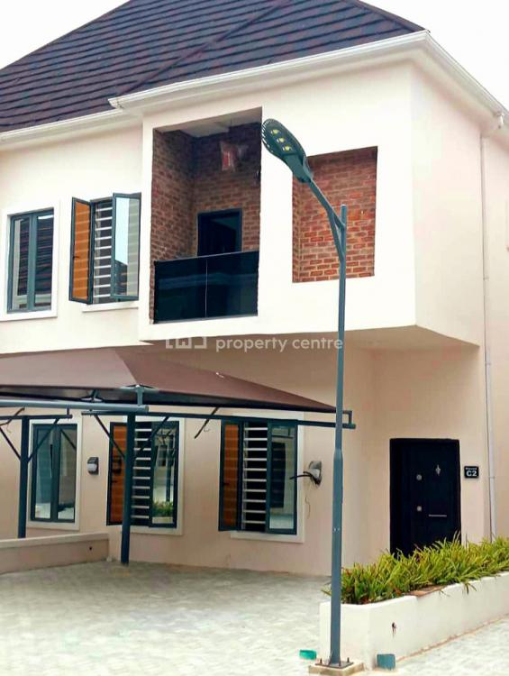 24 Hours Light in 4 Bedrooms Semi Detached Duplex with Swimming Pool, Villa Estate, Ikota, Lekki, Lagos, Semi-detached Duplex for Rent
