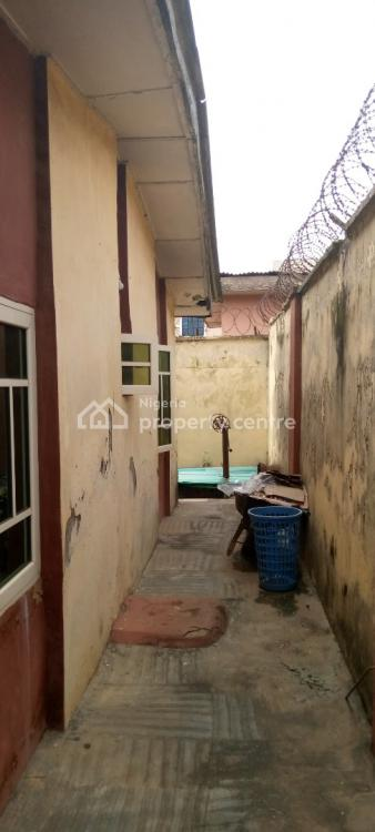 Highly Secured 3 Bedroom Detached Apartment on Half Plot in an Estate, New Oko-oba, Agege, Lagos, Detached Bungalow for Sale