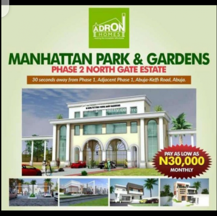 Adron Homes Estate Land, Manhattan Park and Gardens Phase 2, Uke, Karu, Nasarawa, Mixed-use Land for Sale