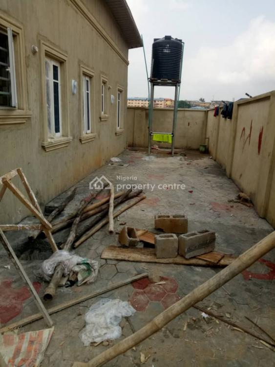 New 3 Bedroom Bungalow with P.o.p on Half Plot of Land, Off Grammar School, Ojodu, Lagos, House for Sale