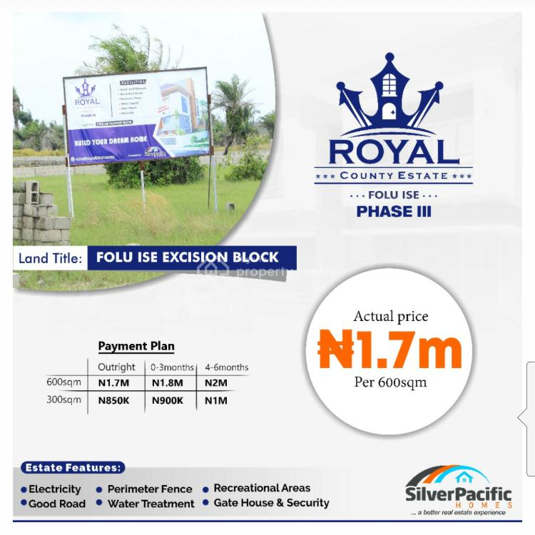 Royal County Iii, Lekki Free Trade Zone, Lekki Epe Express-way, Lekki Expressway, Lekki, Lagos, Mixed-use Land for Sale