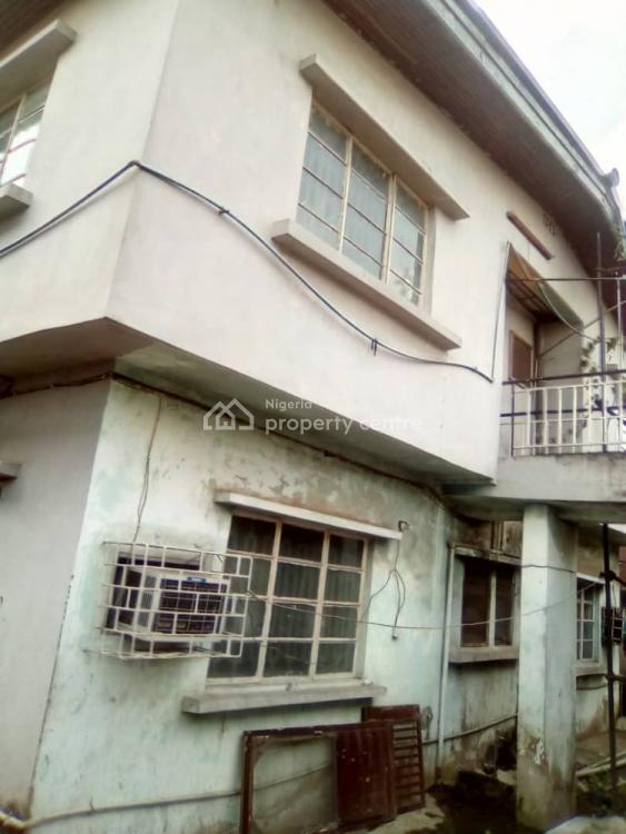 Very Decent and Spacious Storey Building, Ilupeju Estate, Ilupeju, Lagos, Detached Duplex for Sale