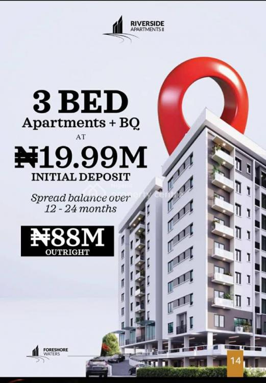 a Luxury 3 Bedroom Apartments in a Secured Eniveroment, V/i Area, Victoria Island (vi), Lagos, Block of Flats for Sale