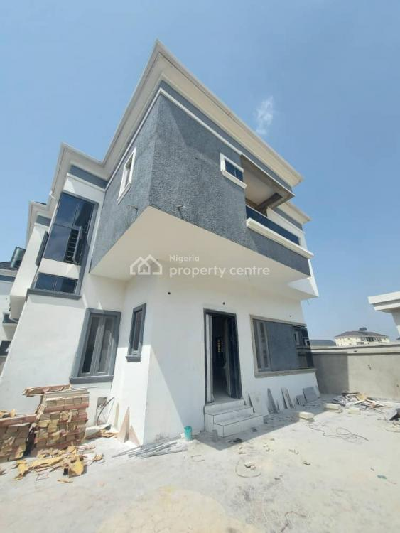 Exquisitely Finished 4 Bedrooms Fully Detached Duplex with a Room Bq, 2nd Toll Gate, Lekki, Lagos, Detached Duplex for Sale
