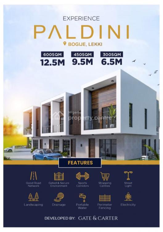 600sqm of Land in a Gated Estate, Bogije, Ibeju Lekki, Lagos, Residential Land for Sale