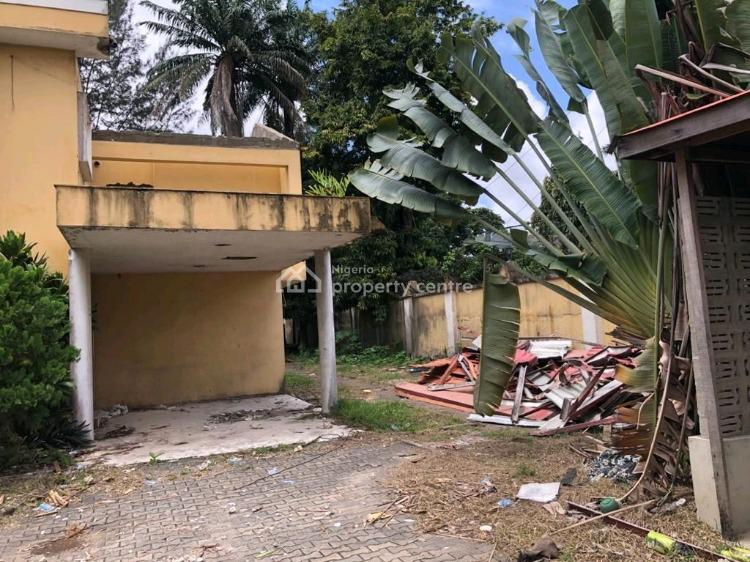 a Developer Delight 5 Bedroom House, Ready for Redevelopment, Copper Road, Ikoyi, Lagos, Detached Duplex for Sale