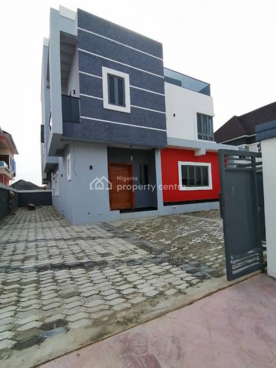 Newly Built 5 Bedroom Fully Detached Duplex  Finished + Bq+study Room, Ajah, Lekki, Lagos, Detached Duplex for Sale