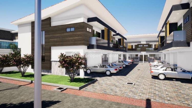 Luxury 4 Bedrooms Terraced Duplex, Located Behind Romey Gardens Opposite Nicon Town, Lekki Phase 1, Lekki, Lagos, Terraced Duplex for Sale