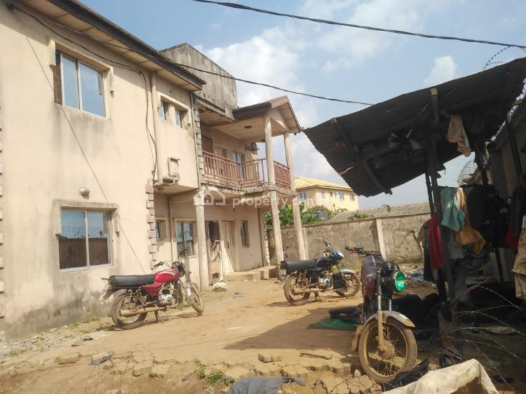 House Consisting of Two Numbers of Three Bedrooms Flat, Isuti Egan, Igando, Ikotun, Lagos, Block of Flats for Sale