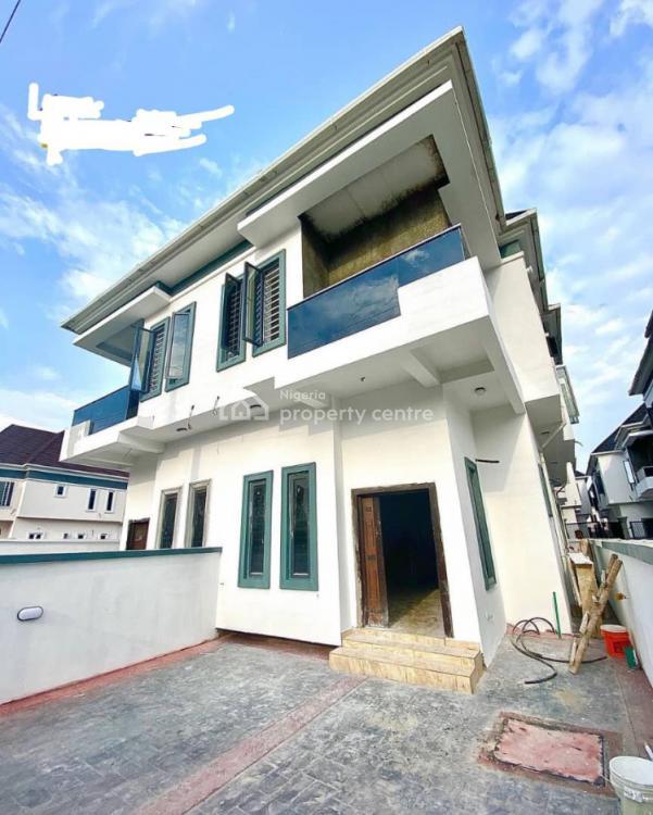 Newly Built 4 Bedrooms Semi Detached Duplex Finished + Bq Room, Chevron, Lekki, Lagos, Semi-detached Duplex for Sale