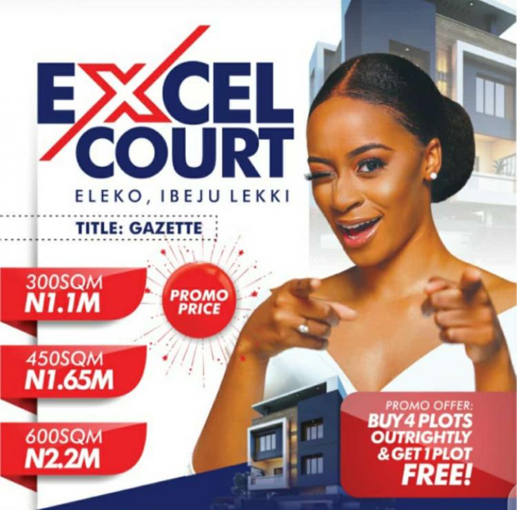 Land with Gazette Title Available, Eleko, Ibeju Lekki, Lagos, Land for Sale